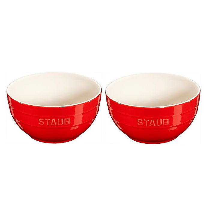 Alternate image 1 for Staub® Ceramics 2-Piece Universal Bowl Set