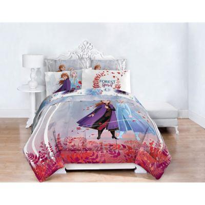 Disney Frozen 2 Twin Full Comforter, Frozen Queen Bedding Set