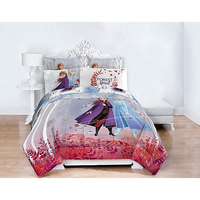 Disney Frozen 2 Bedding Collection, Disney Bed Sheets Queen Size