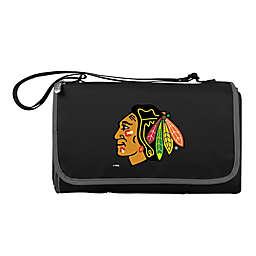 NHL Chicago Blackhawks Outdoor Picnic Blanket in Black