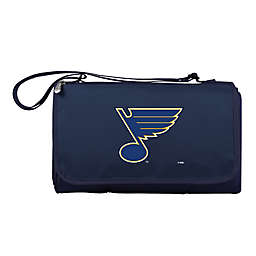 NHL St. Louis Blues Outdoor Picnic Blanket in Blue