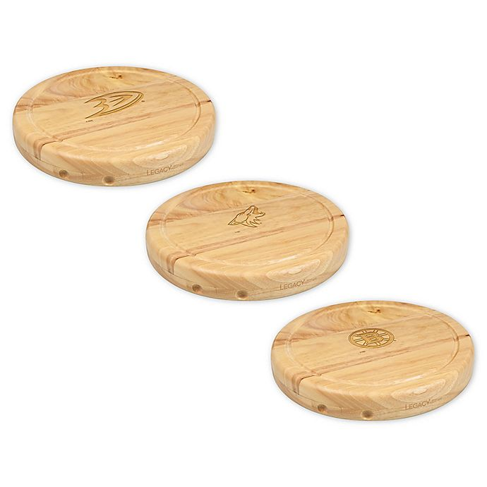 Alternate image 1 for NHL 5-Piece 10-Inch Circo Cheese Board and Tools Set Collection