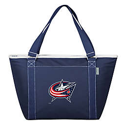 NHL Columbus Blue Jackets Topanga Cooler Tote in Blue