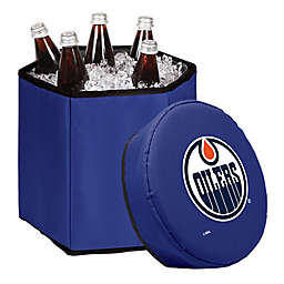 NHL Edmonton Oilers Bongo Cooler Tote & Seat in Blue