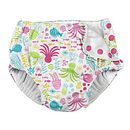 i play.® by green sprouts® Coastal Swim Diaper in White