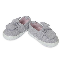 Little Me® Knit Slip-On Casual Shoe