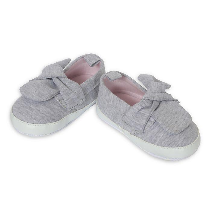 Alternate image 1 for Little Me® Knit Slip-On Casual Shoe