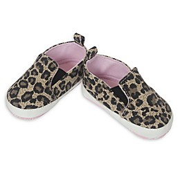 Little Me® Leopard Slip-On Shoe in Brown