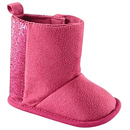 Luvable Friends® Sparkle Boot in Pink