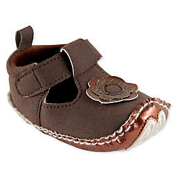 Luvable Friends® Mary Jane Shoe in Brown