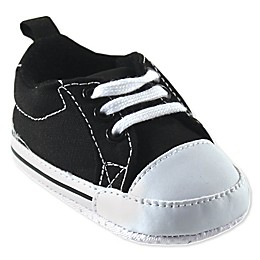Luvable Friends® Basic Canvas Sneaker in Black