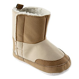 Luvable Friends® Faux Suede Winter Boot in Tan