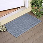 Weather Guard™  Diamonds  23-Inch x 35-Inch Door Mat in Bluestone
