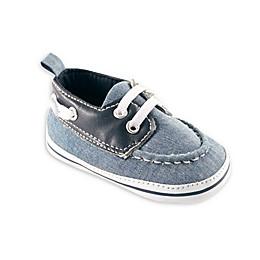 Luvable Friends® Chambray Slip-On Shoe in Blue