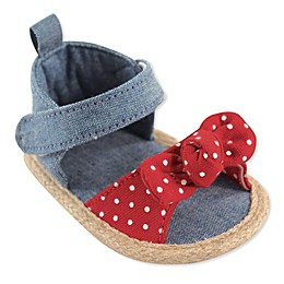 Luvable Friends® Bow Sandal in Red