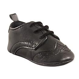 Luvable Friends® Wingtip Dress Shoe in Black