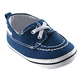Luvable Friends® Slip-On Boat Shoe in Navy