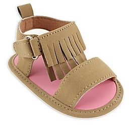 Luvable Friends® Fringe Sandal in Tan