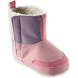 Luvable Friends® Size 12-18M Faux Suede Boot in Pink
