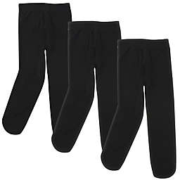 Luvable Friends® Size 18-24M Tights in Black (Set of 3)