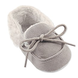Luvable Friends® Cozy Moccasin in Grey