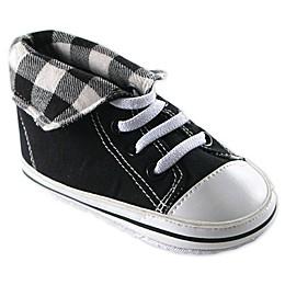 Luvable Friends® Hi-Top Sneaker in Black