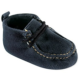 Luvable Friends® Suede Shoe in Navy