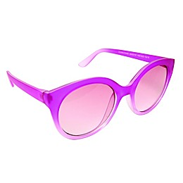 On The Verge Kids Sunglasses in Flat Pink