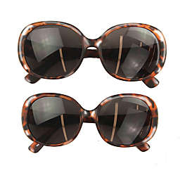 Tiny Treasures™ 2-Piece Mommy and Me Round Sunglasses Set in Tortoise