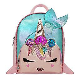 OMG Accessories Mermaid Unicorn Mini Backpack in Pink