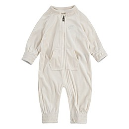 Nike® Velour Coverall in Ivory