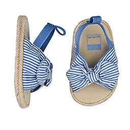carter's® Bow Sling Sandal in Blue