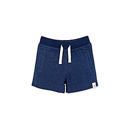 Burt's Bees Baby® 2-Tone Organic Cotton Short in Navy