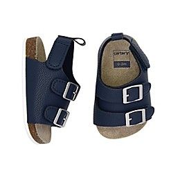 carter's® Cork Sole Sandal in Navy