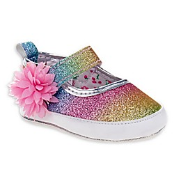 Laura Ashley® Mary Jane Glitter Crib Shoe
