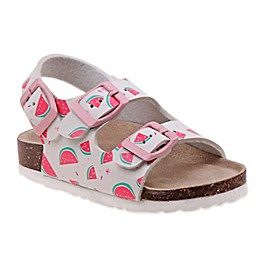 Laura Ashley® Watermelon Sandal in White
