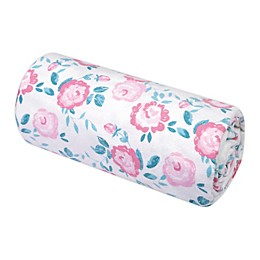 Trend Lab® Emma Floral Jumbo Deluxe Flannel Swaddle Blanket
