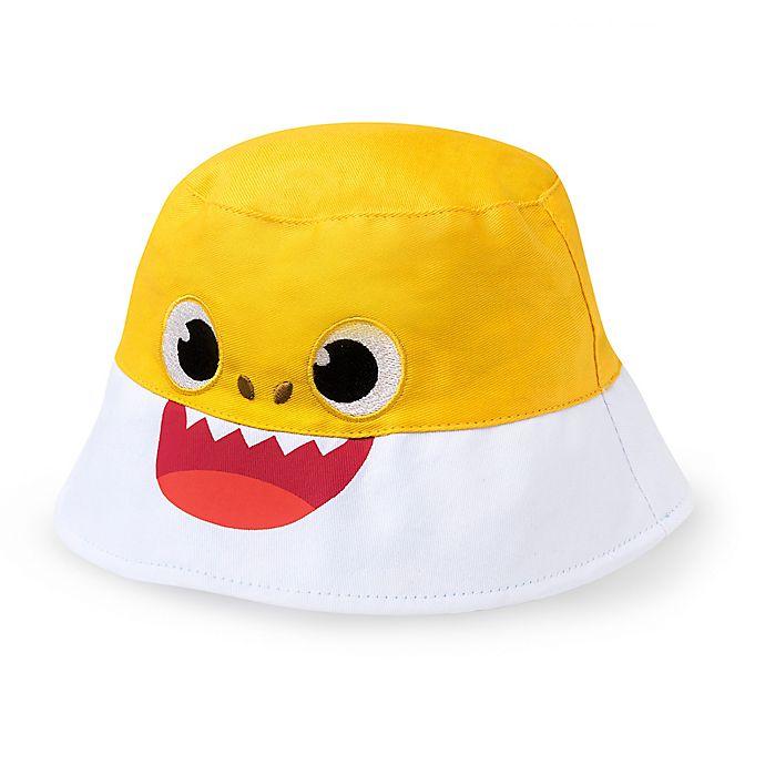 Alternate image 1 for Baby Shark Bucket Hat in Yellow/White