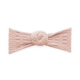 Baby Bling One Size Waffle Bun Headband in Petal Pink