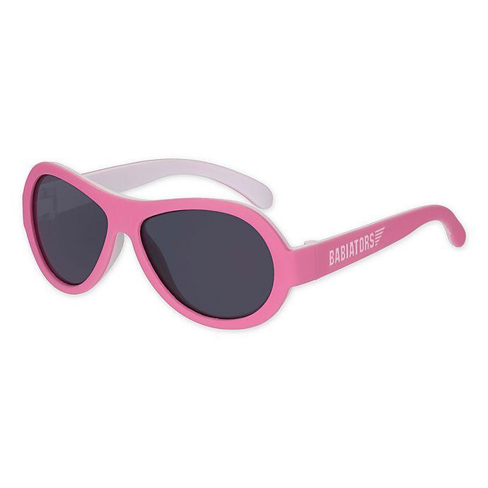Alternate image 1 for Babiators® Tickled Pink Aviator Sunglasses