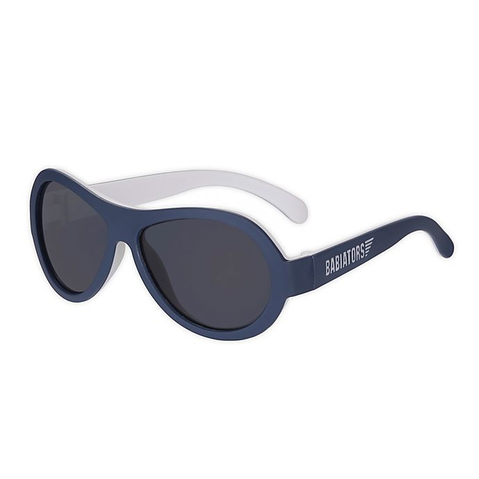 Alternate image 1 for Babiators® Classic Aviator Sunglasses in Navy