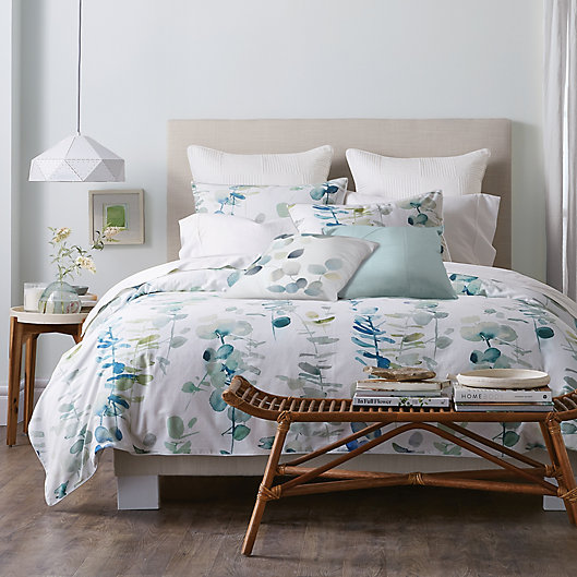 Alternate image 1 for Canadian Living Lacombe Full/Queen Duvet Cover in Teal