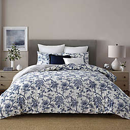 Wamsutta® Norwich 3-Piece Full/Queen Duvet Cover Set in Blue