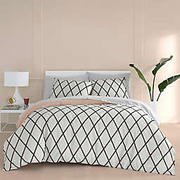 Now House by Jonathan Adler® Martine Duvet Cover Set in Blush