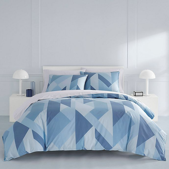 Alternate image 1 for Now House by Jonathan Adler® Marco Duvet Cover Set in Blue