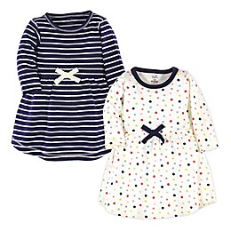 Touched by Nature® 2-Pack Organic Cotton Dresses