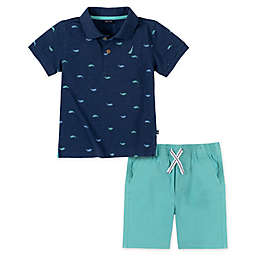 Nautica® 2-Piece Polo Short Set