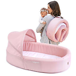 LulyBoo® Bassinet To-Go Travel Bed in Blush