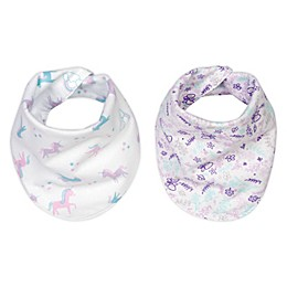 Trend Lab® 2-Pack Reversible Flannel Bandana Bib