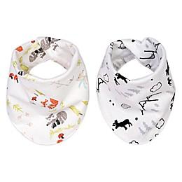 Trend Lab® 2-Pack Reversible Flannel Bandana Bib